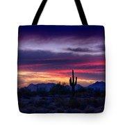 Sonoran Desert Skies  Tote Bag