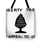 Sons Of Libery Symbol, 1776 Tote Bag