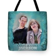 Soon To Be Mr And Mrs Jackson Tote Bag