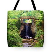 Soothing Cascade Tote Bag