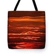 Soothing Saturday Sunset Tote Bag