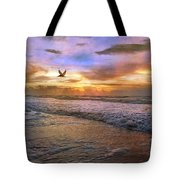 Soothing Sunrise Tote Bag by Betsy Knapp