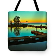 Soothing Sunset Tote Bag