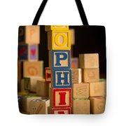 Sophia - Alphabet Blocks Tote Bag