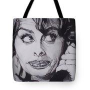 Sophia Loren Telephones Tote Bag