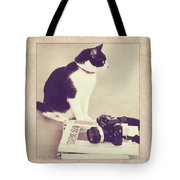 Sophie And The Camera Tote Bag