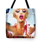 Sophie Monk Painting Tote Bag