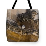 Sophisticated Baroque Bird Perch Tote Bag