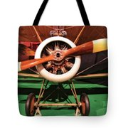 Sopwith Camel Airplane Tote Bag