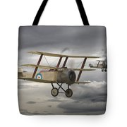 Sopwith Triplane Tote Bag by Pat Speirs