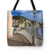 Sori - Sea And Promenade Tote Bag