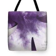 Soul In The Sky - Us Air Force Memorial Tote Bag