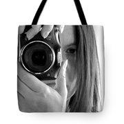Soul-searching - Self-portrait Tote Bag