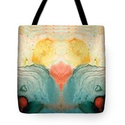 Soul Star - Abstract Art By Sharon Cummings Tote Bag