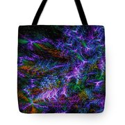 Souls Connectivity Abstract Tote Bag