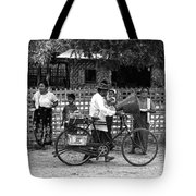 Sound Bike In Burma Tote Bag