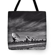 Sound Waves Tote Bag