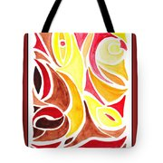 Sounds Of Color Doodle 2 Tote Bag