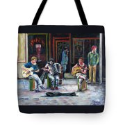 Sounds Of Paris Tote Bag