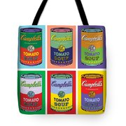 Soup Cans Tote Bag