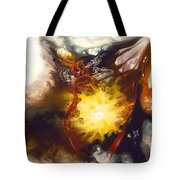 Source Of Strength Tote Bag by Karina Llergo