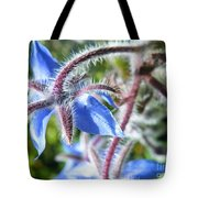 Source Of The Blues Tote Bag