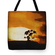 South African Sky Tote Bag