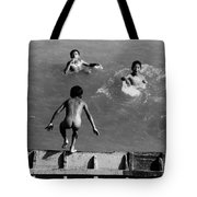South American Rivers Tote Bag