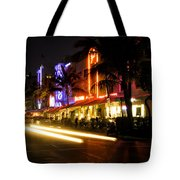 South Beach After Dark Tote Bag