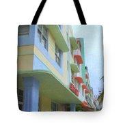 South Beach Facades Tote Bag
