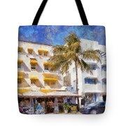 South Beach Miami Art Deco Buildings Tote Bag