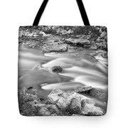 South Boulder Creek Little Waterfalls Rollinsville Bw Tote Bag