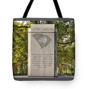 South Carolina At Gettysburg - Close 1 Tote Bag