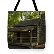 South Carolina Log Cabin Tote Bag