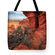 South Coyote Buttes Grand View Tote Bag by Inge Johnsson