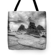 South Coyote Buttes Monochrome 1 Tote Bag