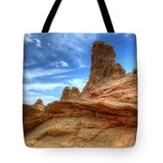 South Coyotte Buttes 8 Tote Bag by Bob Christopher