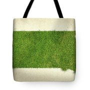 South Dakota Grass Map Tote Bag by Aged Pixel