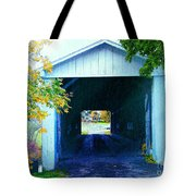 South Denmark Rd. Covered Bridge Tote Bag