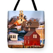 South End Boathouse Tote Bag