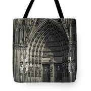 South Entrance Cologne Cathedral Tote Bag