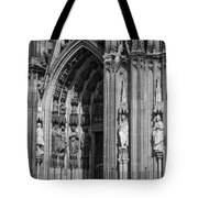 South Entrance Detail Cologne Cathedral Tote Bag