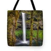 South Falls Silver Falls State Park Tote Bag