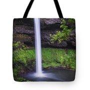 South Falls - Silver Falls State Park - Oregon Tote Bag