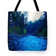 South Fork Of The Tieton  Tote Bag