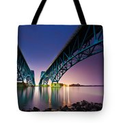 South Grand Island Bridge Tote Bag