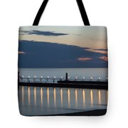 South Haven Michigan Lighthouse Tote Bag