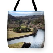 South Holston Dam View Tote Bag