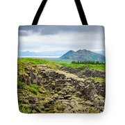 South Iceland Landscape Pingvellir Tote Bag