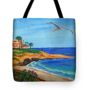 South La Jolla Tote Bag